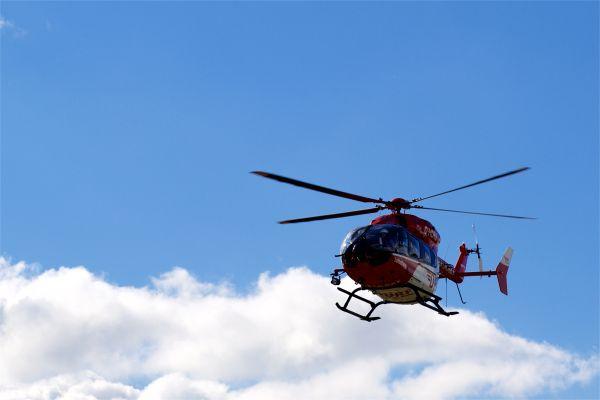 Hubschrauber-Rundflug: Große Maschinen fast schwerelos