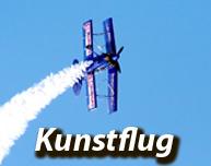 Beitrag mit vielen Tipps, Informationen und Angeboten rund um das Thema Kunstflug