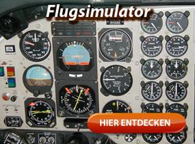 Einmal Pilot einer Boeing oder eines Airbus sein mit einem Flugsimulator