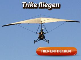 Trike fliegen - mit Motorkraft gen Himmel