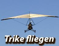 Beitrag rund um die Themen Trike fliegen, Motorgleitschirm und Para-Trike